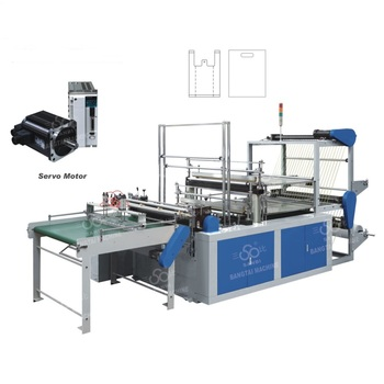 High speed Plastic shopping Bag Making Machine