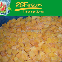 delicious IQF health chinese fresh pumpkin in vietnam have a hot sale in bulk