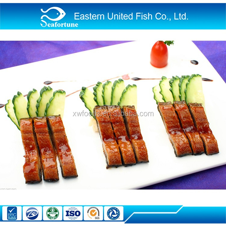 China Seafood Wholesale Fresh Water Eel Fillet