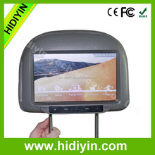 9'' wifi network car headrest multimedia player advertising taxi lcd screen