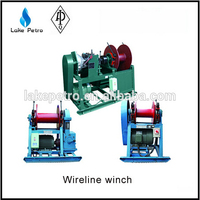 HDD drilling or core well drilling JS-1500 wireline winch