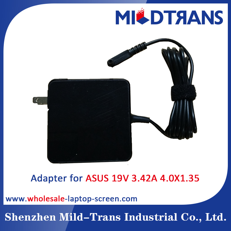 Laptop Adapter Notebook Charger for ASUS 19V 3.42A 65W 4.0X1.35mm