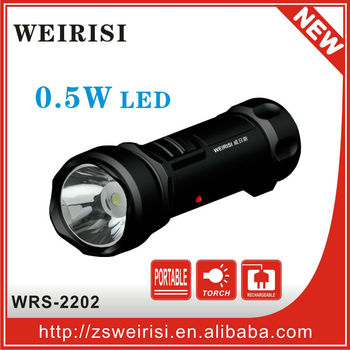 Rechargeable LED Flashlight with cheap price