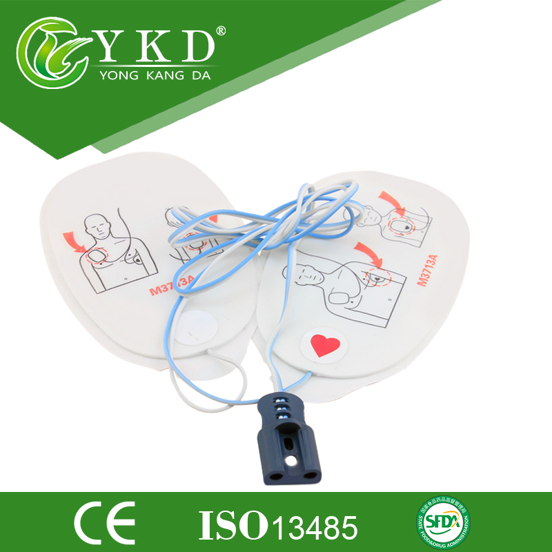 Medical machine accessories original defibrillator ECG electrode Pad M3713A