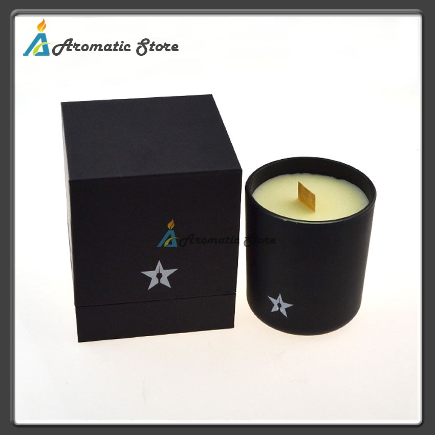 palm wax scented candle