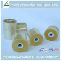 flexible self-adhesive rolled PVC Stretch Film