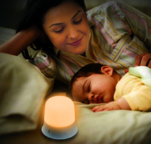 portable and safe baby night light warm white led