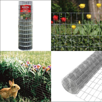 "48"" x 100 ft wire mesh gauge welded wire galvanized steel fence cage onfinement"