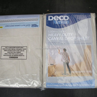Mat Weave Canvas Paiting Drop Cloth