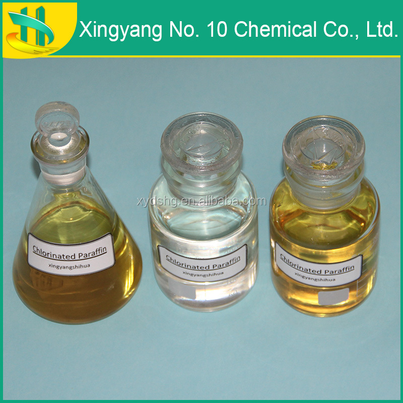 Chlorinated paraffin for proofing additive and cleaning agent