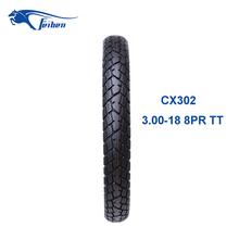 Low Price High Quality China Motorcycle Tubeless Tyre 3.00-18