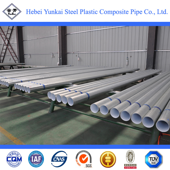 galvanized steel pipe for irrigation/ coated carbon steel pipes