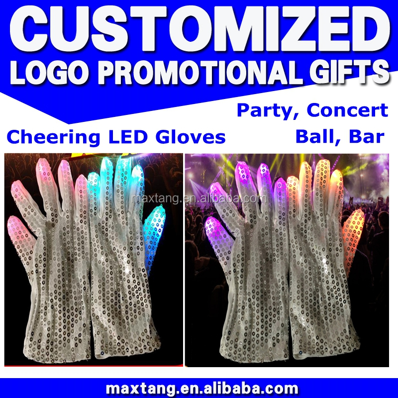 www.alibaba.com hot sellingconcert led gloves with led lights wholesale china supplier