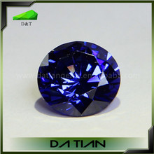 High quality Synthetic Tanzanite Cubic Zirconia CZ Gemstone