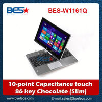 New style camera 2mp Intel-1037U 11.6 inch 3g window n90 tablet pc