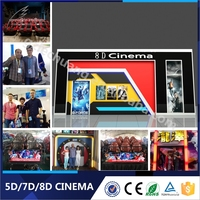 Hot Sales Dynamic Movies System Truck 5d Theater 5d Cinema Simulator Equipment