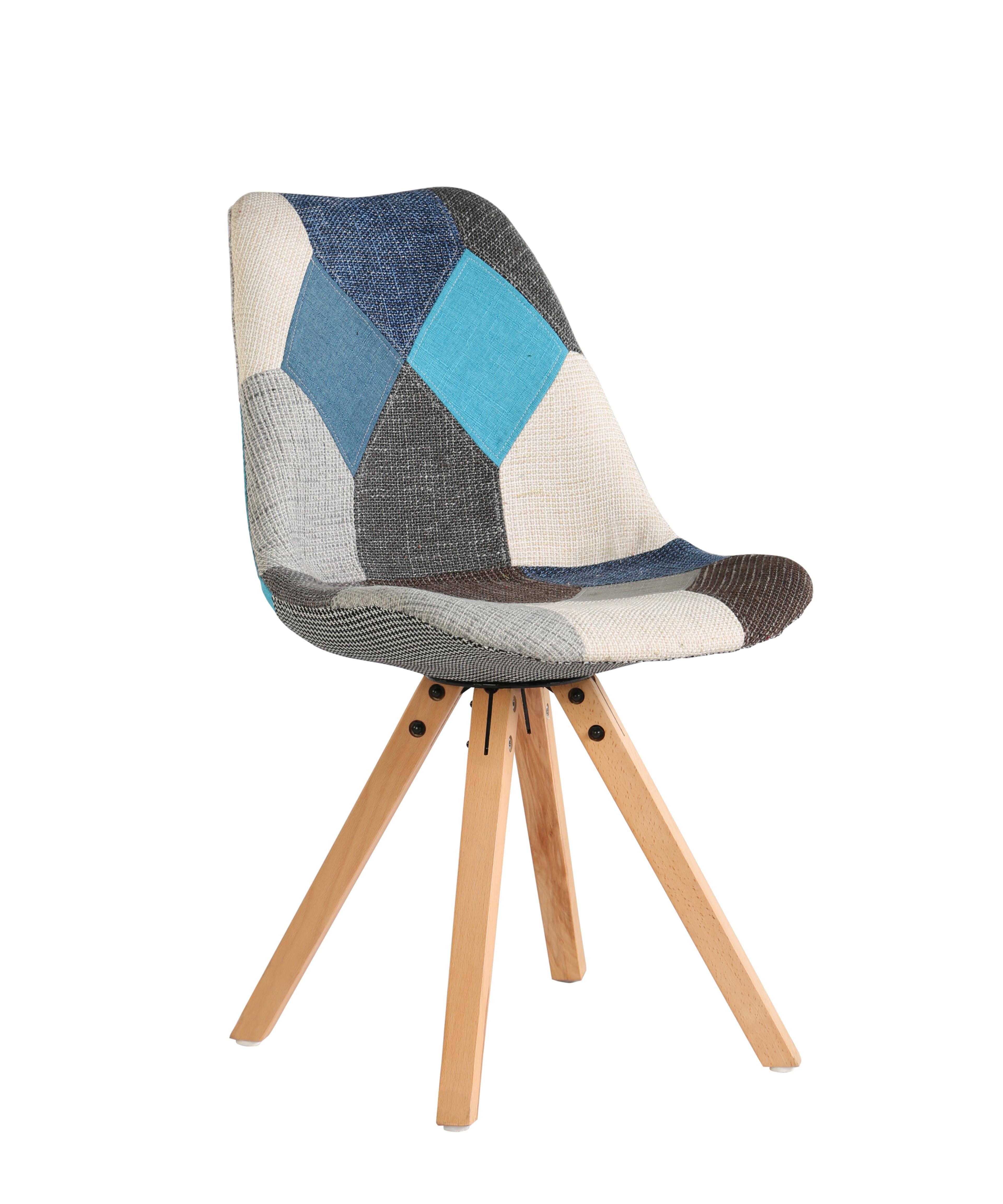 Venta al por mayor silla de madera con tela para living-Compre ...