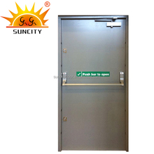 Cheap price ul 20 30 60 120 min steel fire rated exit door