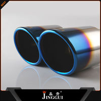 auto part racing decorate universal exhaust tip