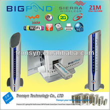 100% Original Unlock 21.6Mbps BigPond 3G21WB HSPA 3G WiFi Router And 3G Gateway