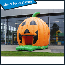 New design inflatable bouncer castle/ inflatable pumpkin castle/Halloween decoration for advertising