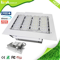 High power 200w recessed led canopy lights for gas station supplier