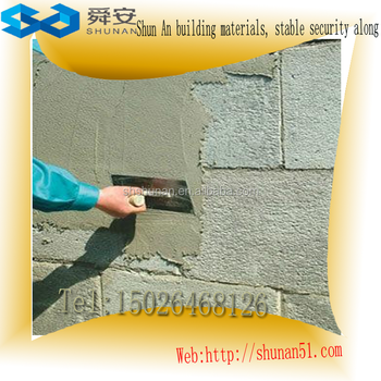 The Polymer mortar plaster powder