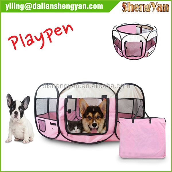 Dog Floding Playpen with Eight Panels