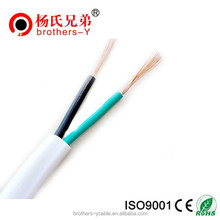 2 Core PVC Jacket 3 Core Flexible Flat Cable BVVB Electric Wire Power Cable