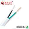 2 cor pvc jacket 3 core flexible flat cable BVVB Electric Wire power cable