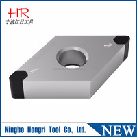 China supplier high quality diamond cutting tool pcd inserts for aluminum wheel