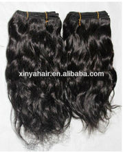 Hair tracks styles 100% virgin african wavy hair extension