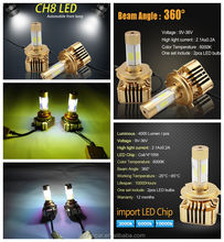 High Quality New Product Super Bright Auto Car Led Heandlight Accessary Parts Wholesale Suitable For Any Cars
