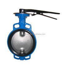 KEFA pinless stainless steel wafer butterfly valve with soft seat