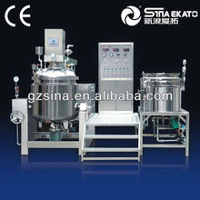 China Machine Equipment Manufacturer High Speed Grease Homogenizer Ointment Vacuum Emulsifier For Cosmetics Pharmaceutical