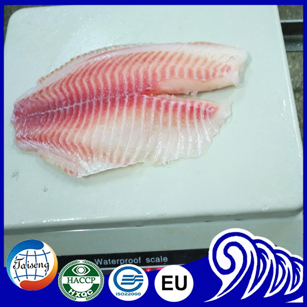Fish farming Black tilapia fish red frozen fillet