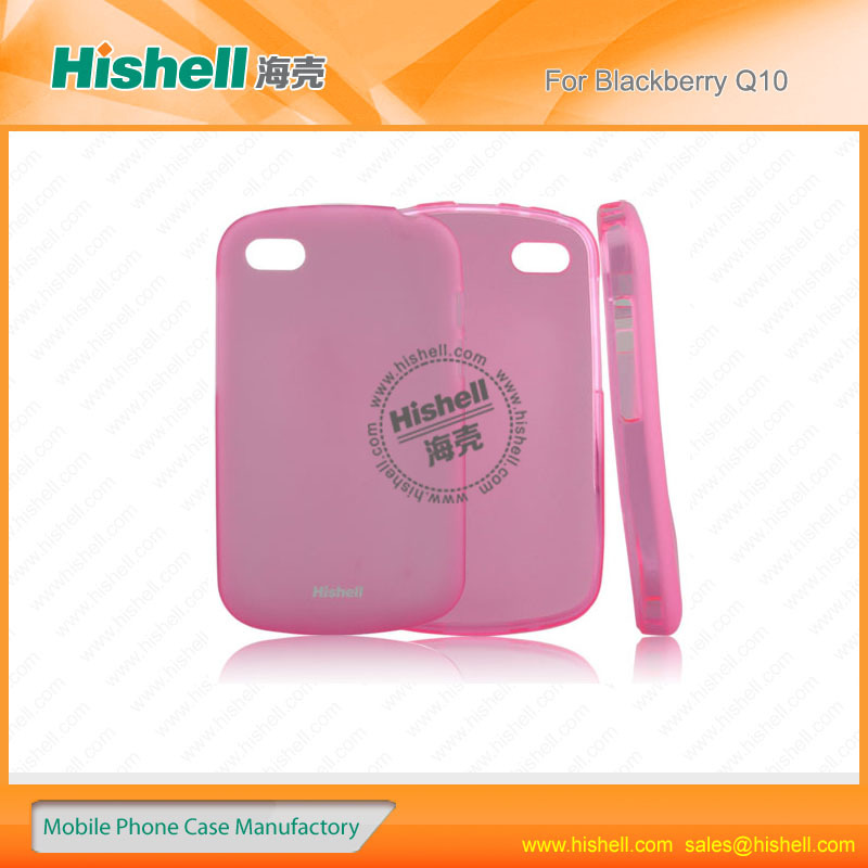 Indian market TPU material mobile covers india for Blackberry Q10