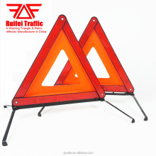E-mark Certificated Roadside Reflective Warning Triangle for Europe Clients