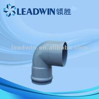 rubber joint pvc elbow, pvc fitting