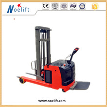 1.5t automatic walk behind pallet reach stacker electric forklift price 1000kg counterbalance electric pallet stacker picture