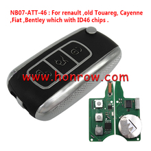 For Ren, Fi with ID46 chips KDIY REMOTE KEY NB07-ATT-46