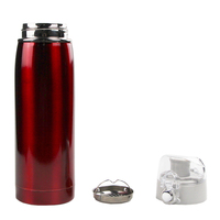680ml double wall vacuum insulated stainless steel water bottle keeps drink warm/cold water kettle