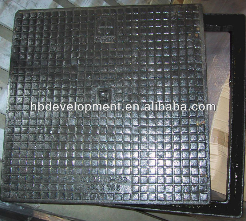 Hydraulic Cover in ductile iron B 125