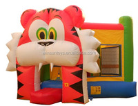 Kids Cheap Commercial Tiger Inflatable Bounce House For Sale