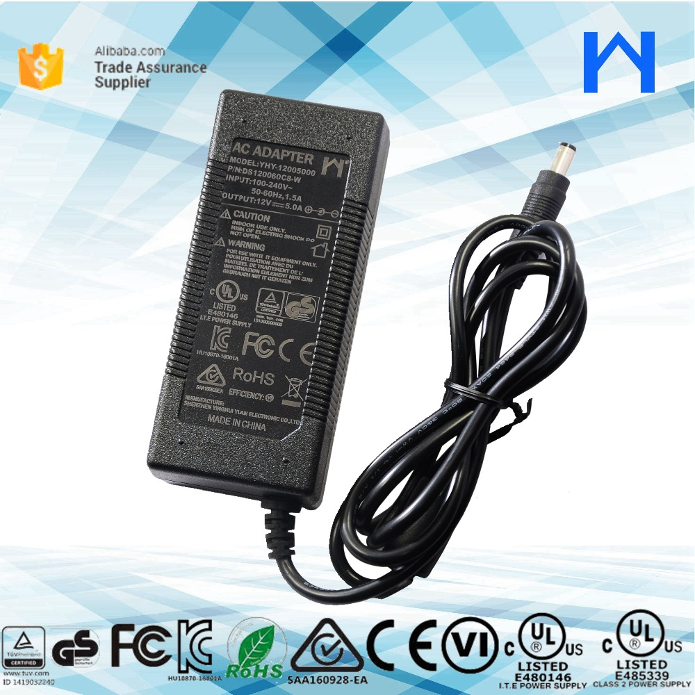 12V 5a 60W Led Driver AC/DC power supply for led light,lcd display