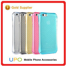 [UPO] Wholesale Stylish Transparent Clear Air Cushion Shock Proof TPU Best Case for iPhone 6 6S