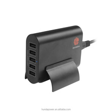 KC 5usb 50W 10A 5V Smart ic intelligent function universal usb socket charger for tablet and mobiles
