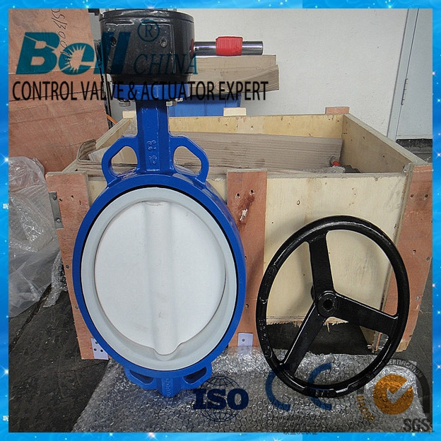 Motorized actuator Damper butterfly valve for air and duct