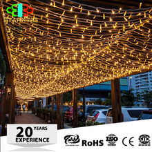 Wholesale led twinkle net lights cheap led decorative light curtain for wedding