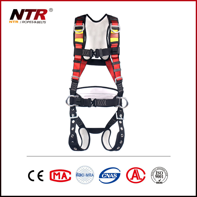 NTR HAWK50G5F climbing fall arrest retractable full body safety harness